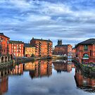 River Aire, Leeds by andyj81