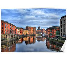 River Aire, Leeds Poster
