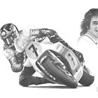 Barry Sheene MBE by Chris-Cox