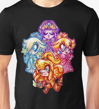 Chibi Nintendo Girls Unisex T-Shirt
