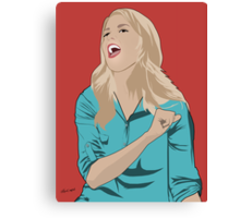 Grace Helbig Portrait Canvas Print