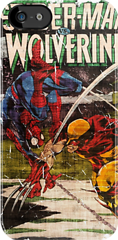 wolverine vs. spider-man by Alex Magnus