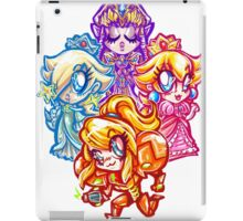 Chibi Nintendo Girls iPad Case/Skin