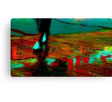 Careless Sandals Canvas Print