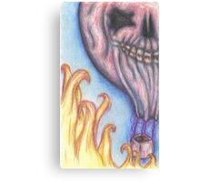 Hell's Balloon Canvas Print