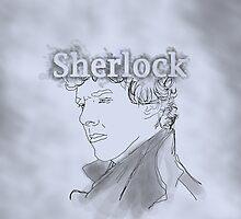 Sherlock Drawing by SherlockReader1