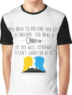 Carry On Graphic T-Shirt