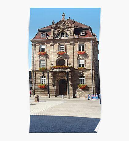 German Building Poster