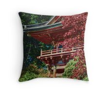 Golden Gate Park Pagoda Throw Pillow