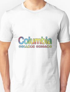 columbia college tie dye T-Shirt