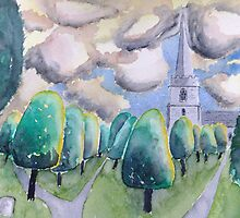 Painswick church by Ivor
