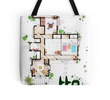"Kusakabe Residence from ""Tonari no Totoro"" film Tote Bag"