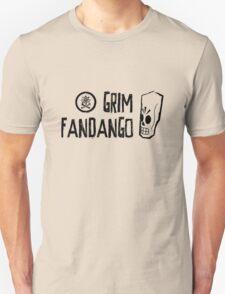 Grim Fandango (Black) Unisex T-Shirt
