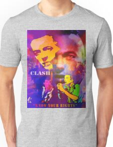CLASH KNOW YOUR RIGHTS Unisex T-Shirt