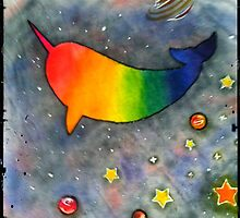 Space Narwhal by hbunnell