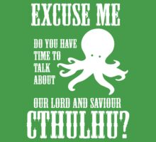 Our Lord And Saviour Cthulhu One Piece - Short Sleeve