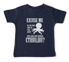 Our Lord And Saviour Cthulhu Baby Tee