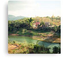 laos scapes- luang prabang, laos Canvas Print