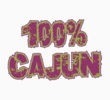 """Cajun """"100% Cajun"""" One Piece - Short Sleeve"""