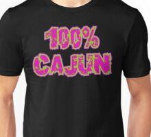 """Cajun """"100% Cajun"""" Unisex T-Shirt"""