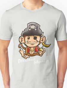 Dangerous Monkey Unisex T-Shirt