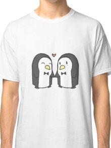Penguin Couple Classic T-Shirt