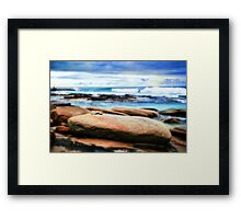 Rocky View Framed Print