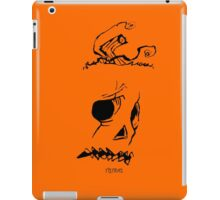 Pumpkinhead - Express Ya Face - Ipad - Orange iPad Case/Skin