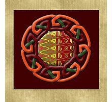 Tribal Celt Earthiness Photographic Print