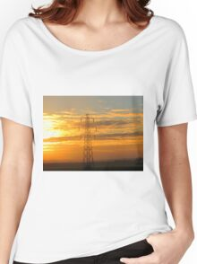 Hazy Sunset Across The Sky Women's Relaxed Fit T-Shirt
