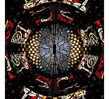 COVENTRY CATHEDRAL WINDOWS MONTAGE Photographic Print