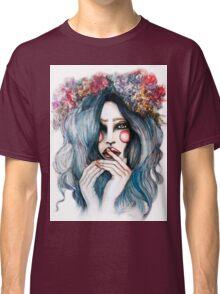 Flower Child // Fashion Illustration Classic T-Shirt