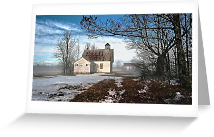 --Maple Ridge Schoolhouse by T.J. Martin