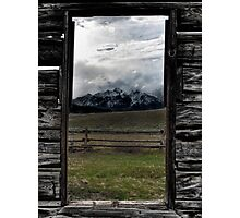 A view from the Ghost Town Photographic Print