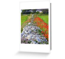 The Dividing Wall Greeting Card