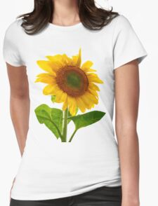 Sunflower Days Womens Fitted T-Shirt
