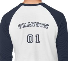 Grayson Up To Bat Men's Baseball ¾ T-Shirt