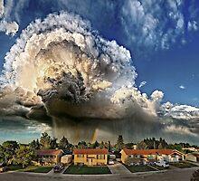 Taber Tornado - Panorama by Patrick Kavanagh