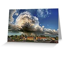 Taber Tornado - Panorama Greeting Card