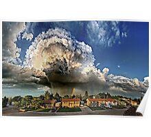 Taber Tornado - Panorama Poster
