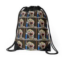 Clown face Drawstring Bag