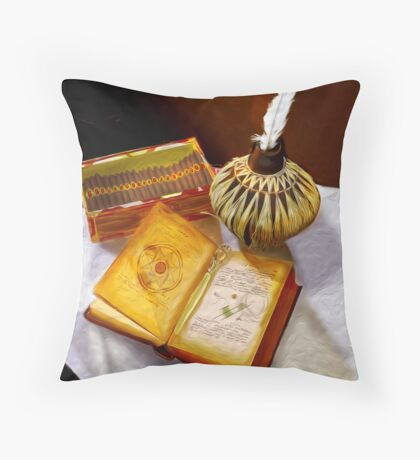 All Things Considered Throw Pillow