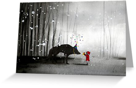 little red riding hood ~ happy birthday to you  by minoule