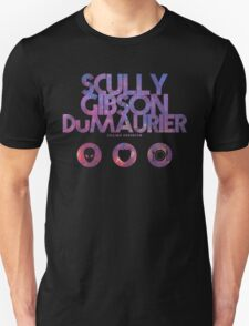Scully, Gibson, Du Maurier Unisex T-Shirt
