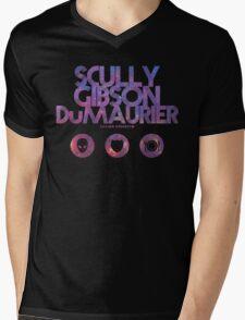 Scully, Gibson, Du Maurier Mens V-Neck T-Shirt