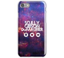 Scully, Gibson, Du Maurier iPhone Case/Skin
