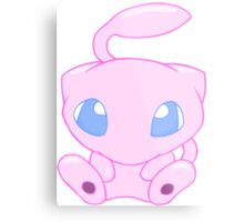 Baby MEW without text Metal Print