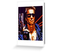 The Terminator Greeting Card