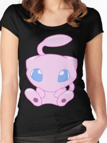 Baby MEW without text Women's Fitted Scoop T-Shirt