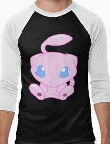 Baby MEW without text Men's Baseball ¾ T-Shirt